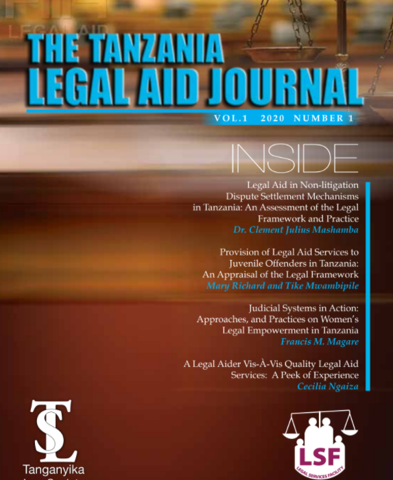 Tanzania Legal Aid Journal 2020